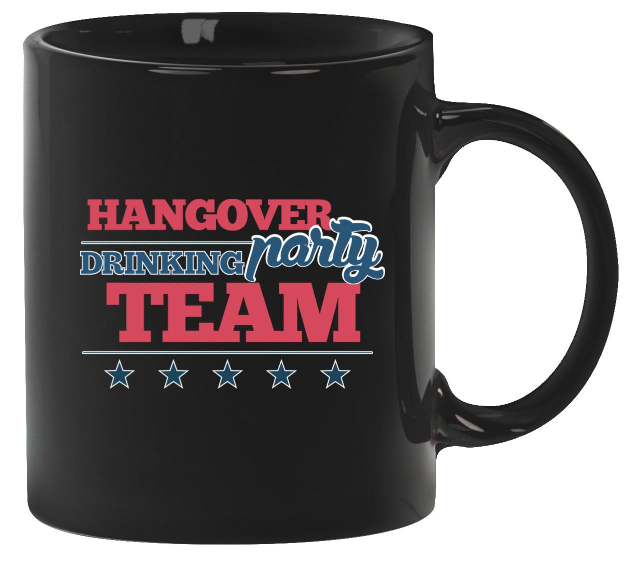 cc52f3021c9302 Hangover Party Drinking Team Tasse | Accessoires | JGA-König